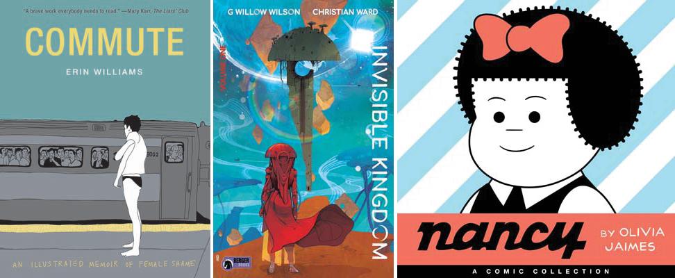 Fall 2019 Announcements: Comics Graphic Novels