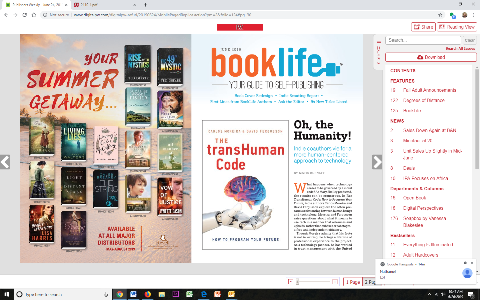 New Titles from Self-Publishers: June 2019