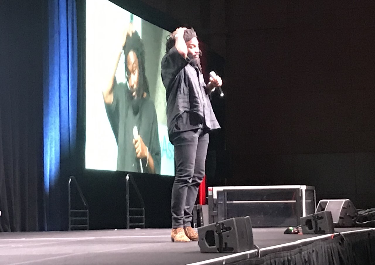 ALA 2019: In Opening Keynote, Jason Reynolds Celebrates the Libraries Within Us All