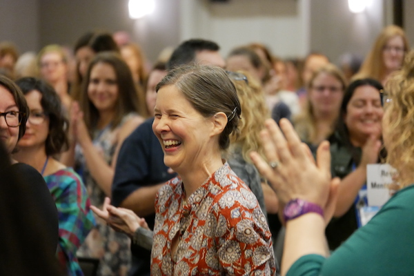 Ann Patchett Shares Story of Illiteracy with Booksellers
