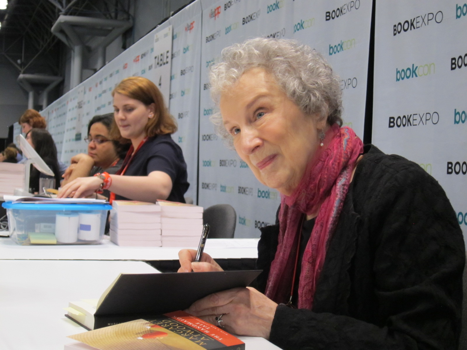 Buzz Builds for Atwood 'Handmaid's Tale' Follow-up
