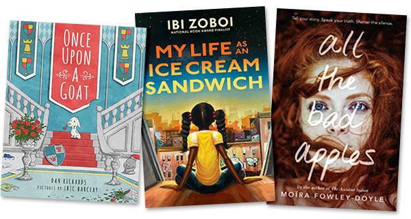 New Kids' and YA Books: Week of August 26, 2019