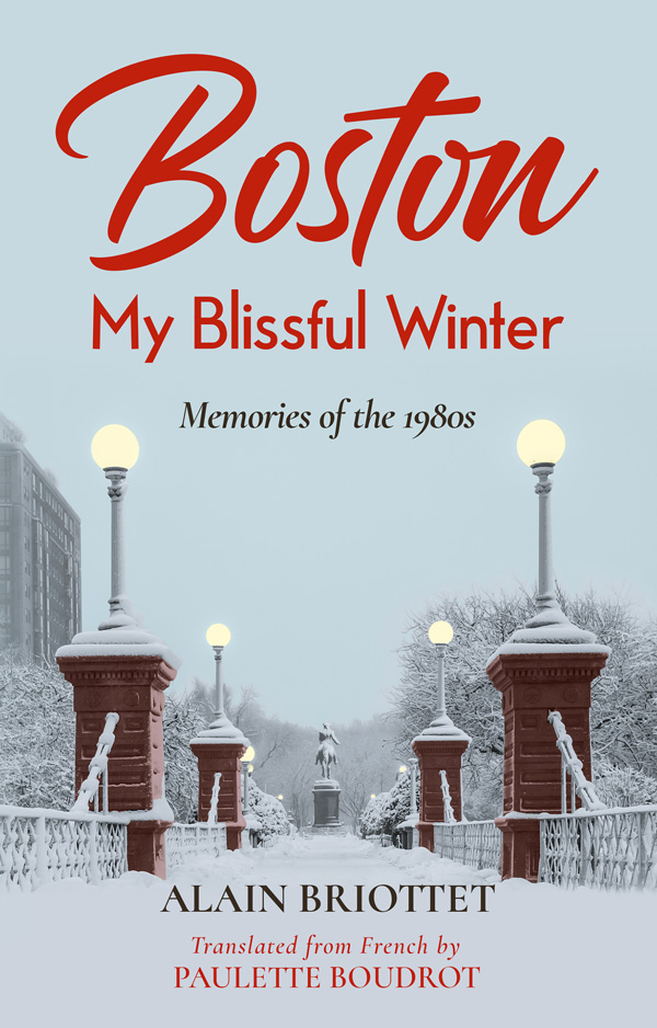Book Cover Redesign Boston My Blissful Winter Memories