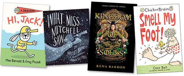 New Kids' and YA Books: Week of September 2, 2019