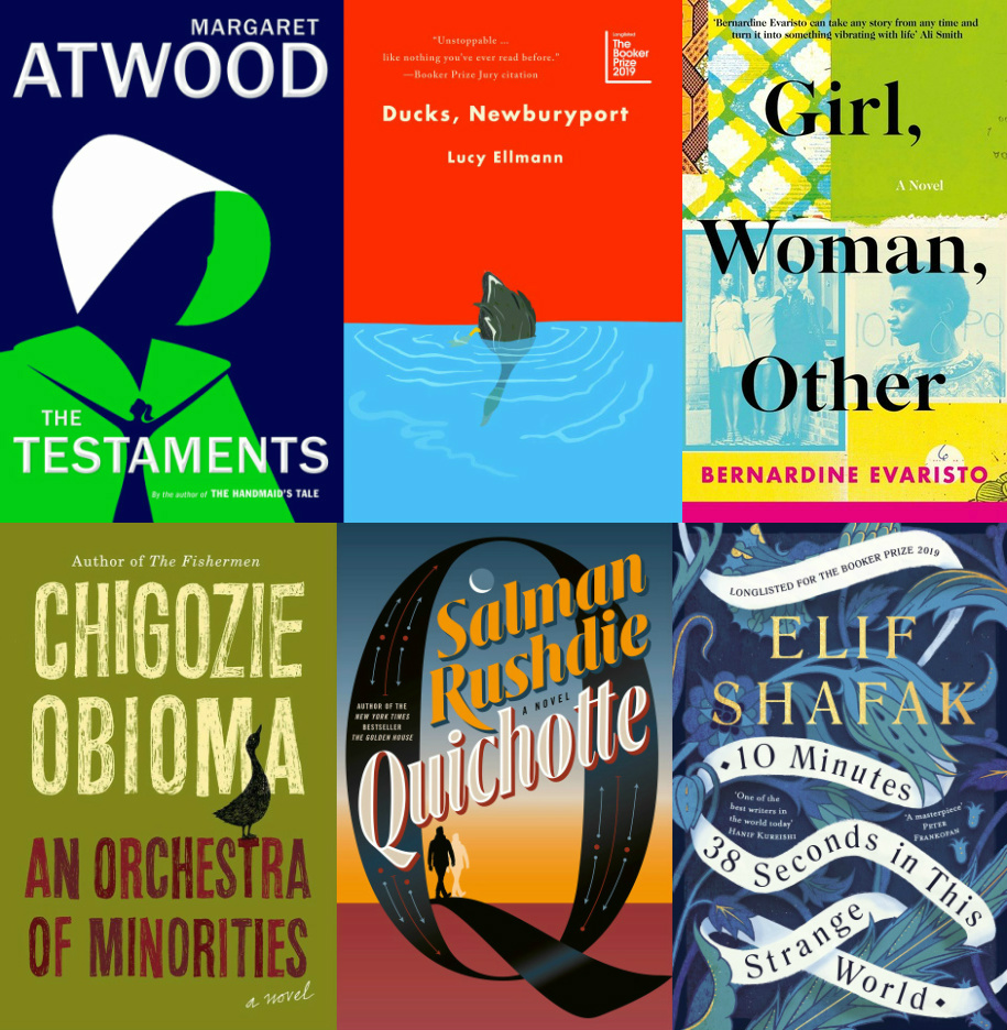 2019 Booker Shortlist Includes Atwood, Rushdie