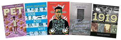 Finalists for 2019 NBA in Young People's Literature Announced