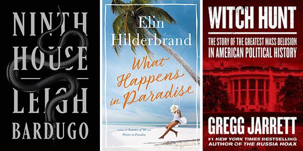This Week's Bestsellers: October 21, 2019