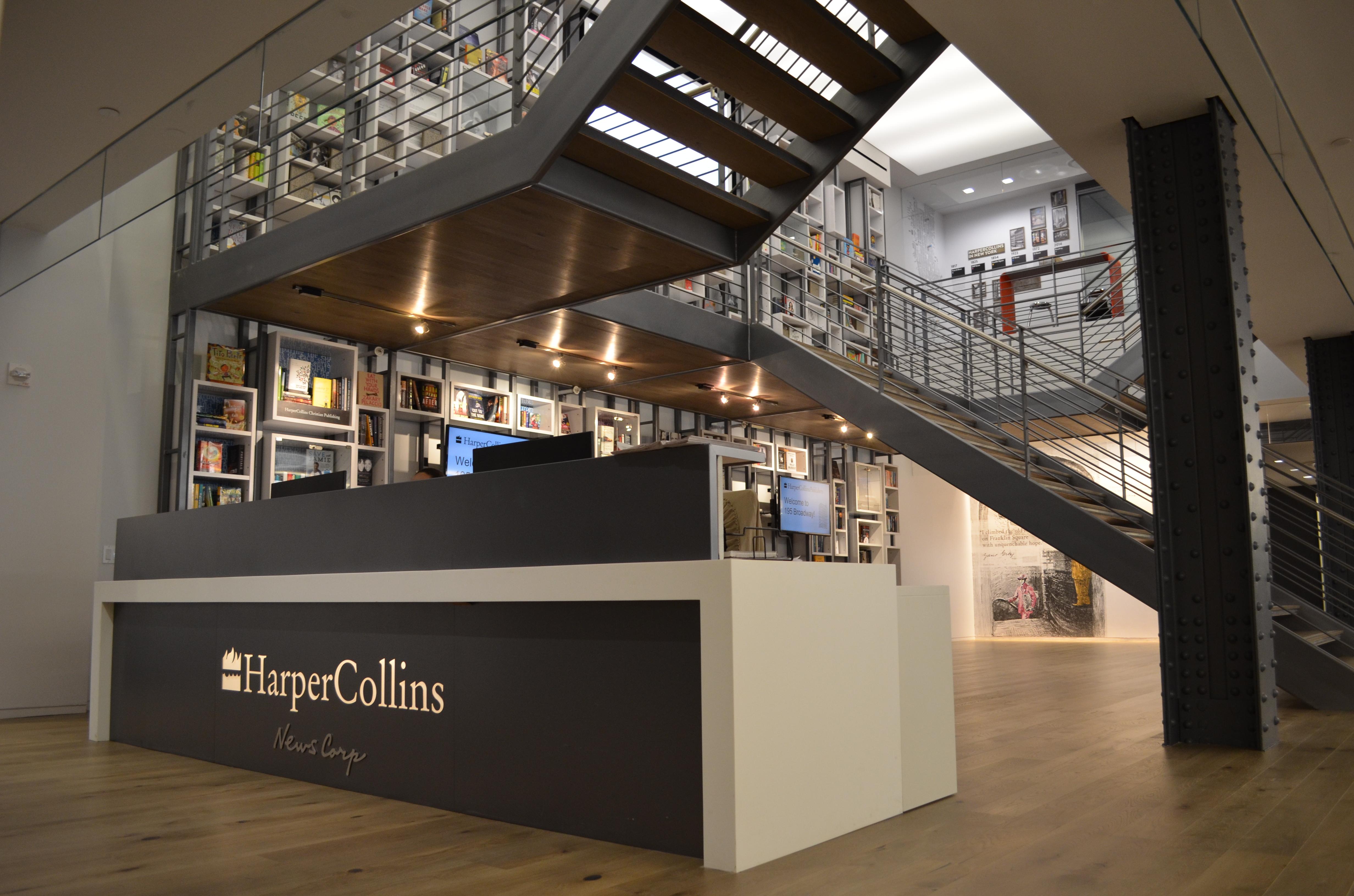 Earnings, Sales, Drop in Q1 at HarperCollins