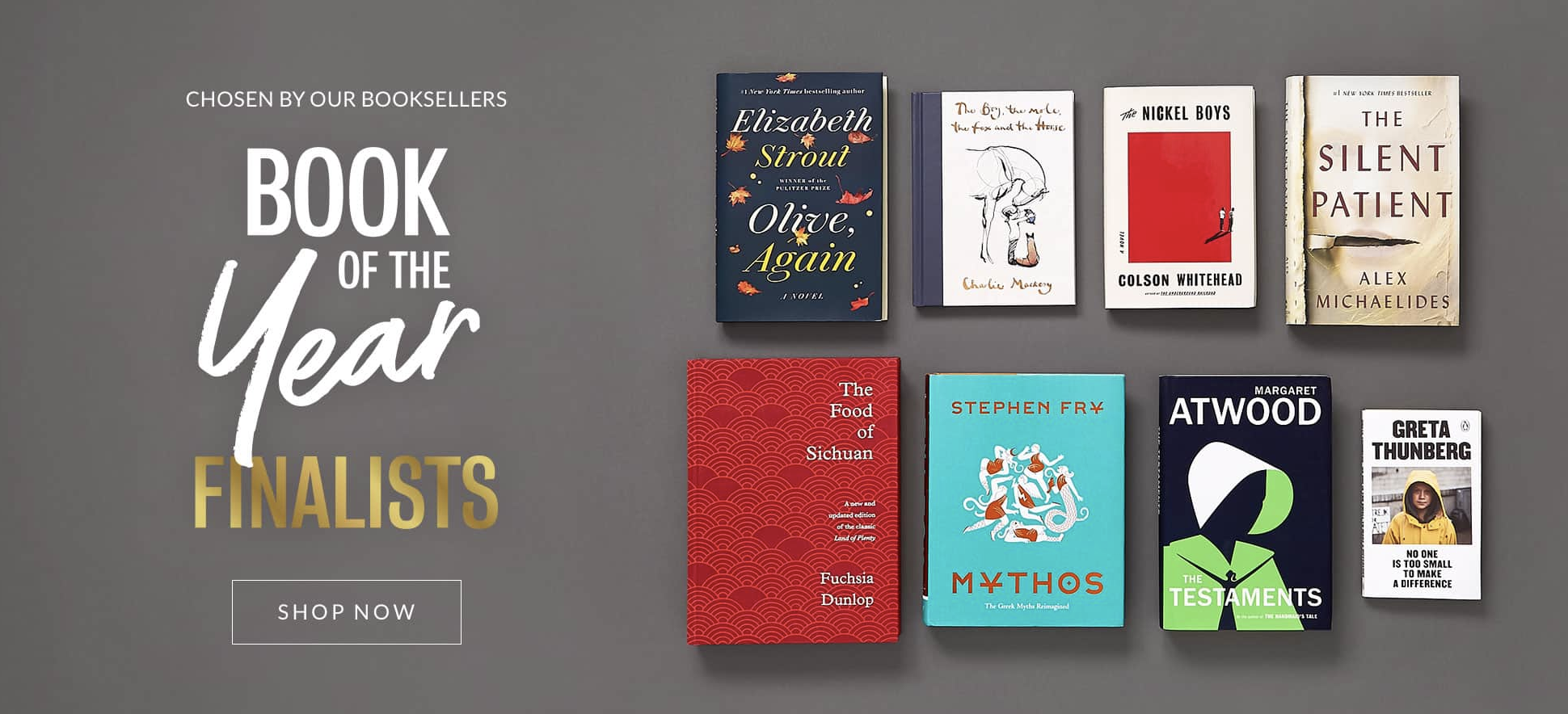 B&N Launches Book of the Year Award