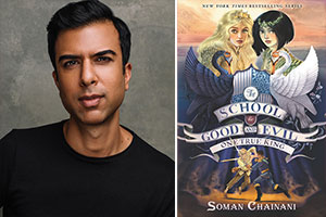 Four Questions for Soman Chainani