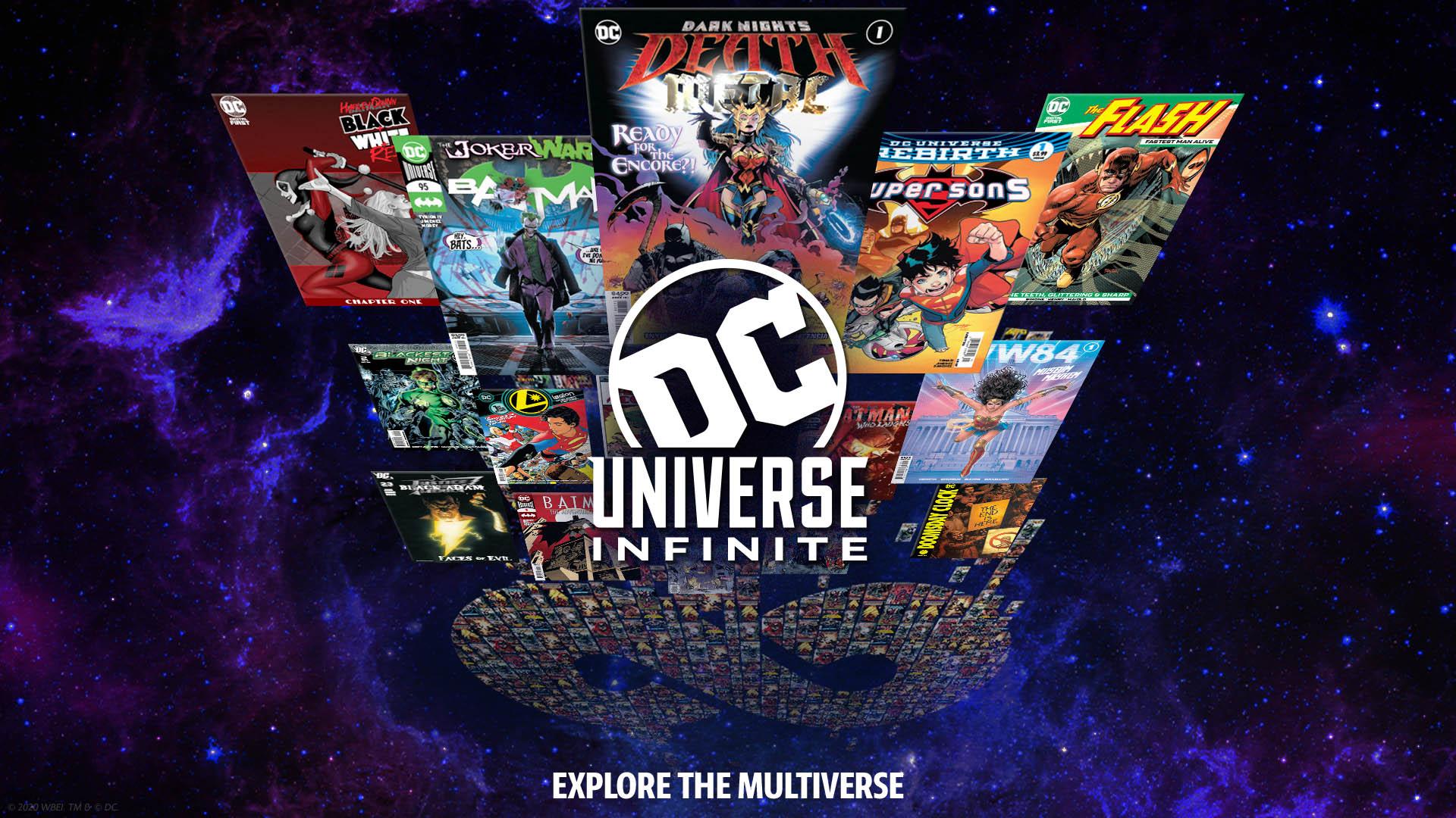 DC to Launch DC Universe Infinite Comics Subscription Service