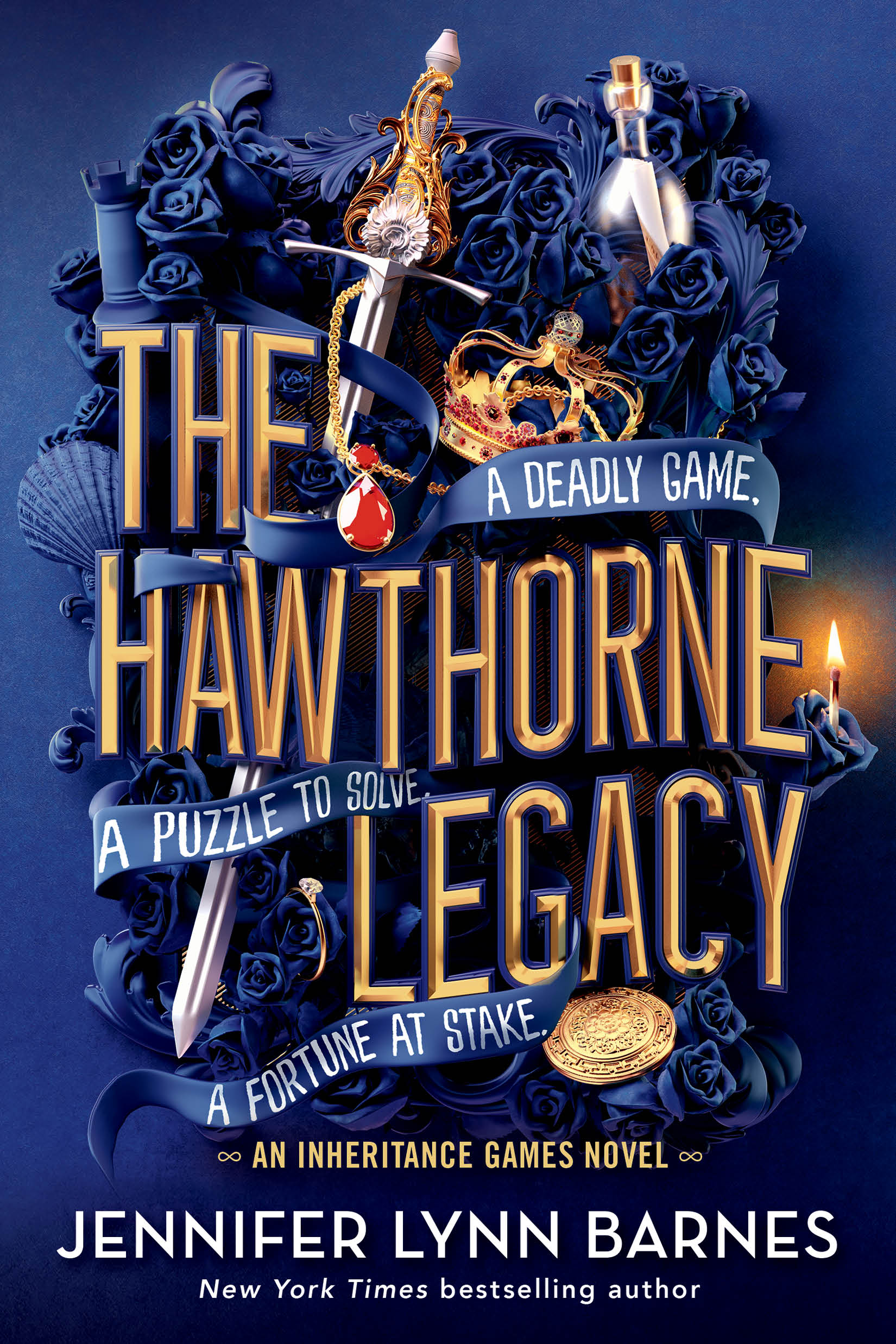 Cover Reveal: 'The Hawthorne Legacy'
