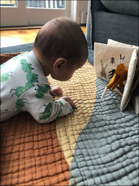 Reading with Olympia and Ira: Two Under Two!