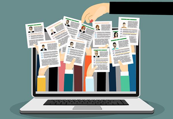 Simon & Schuster Takes a New Recruiting Program Online