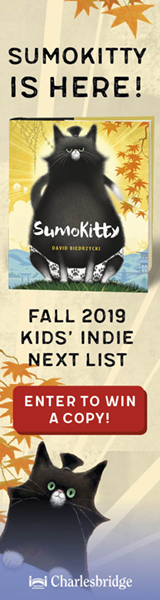SumoKitty is here! Fall 2019 Kids' Indie Next List. Enter to win a copy!