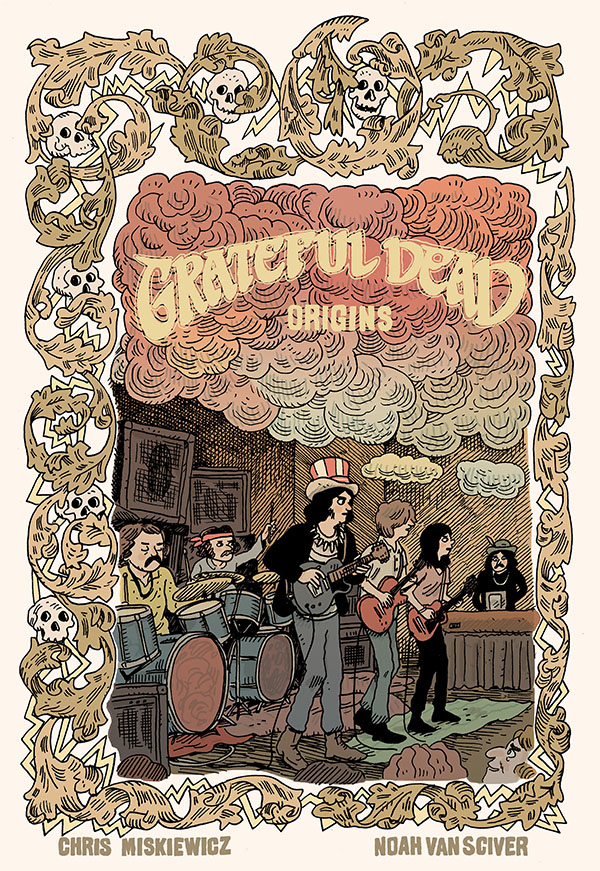 Z2 Comics, Grateful Dead to Publish 'Grateful Dead Origins' Graphic Novel