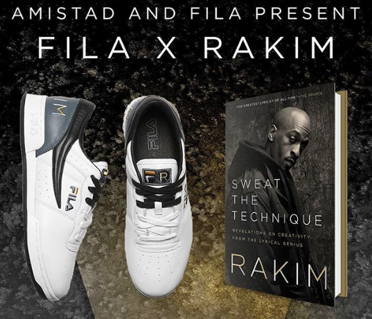 Fila, Amistad Partner On Book Tie-In Sneakers