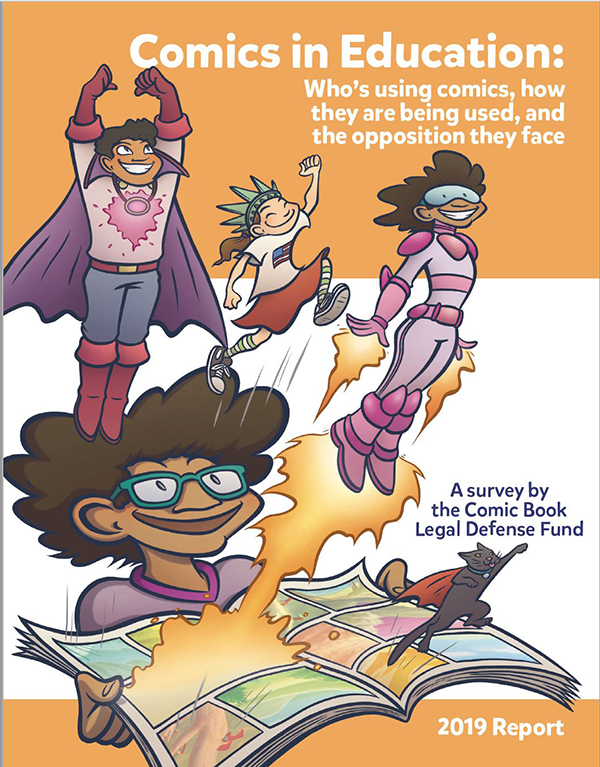CBLDF Survey Reports Growing Use of Comics by Teachers