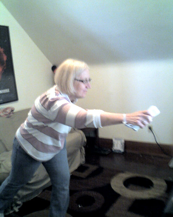 Barbara Vey Wii Bowling